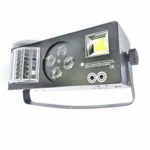 China 4in1 Laser Beam Gobos Strobe LED Effect Light Red And Green 40 Patterns on sale