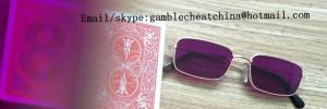 China Bicycle plastic marked playing cards/luminous marked cards/uv perspective sunglasses/contact lenses/gamble cheat/uv ink on sale