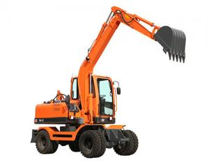 China good quality piston pump small hydraulic wheel excavator for sale on sale