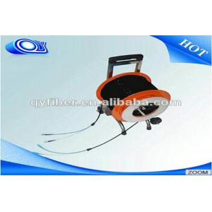 China Video Transmitting Portable Tactical Fiber Optic Cable Trailers Single Mode / Multi Mode on sale