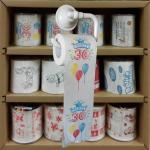 funny printed toilet roll 3 layer 200 sheets 100% wood virgin pulp printed toilet paper