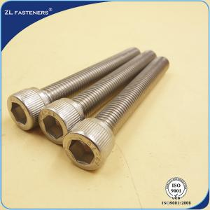China Natural Color Stainless Steel Bolts / Allen bolt DIN912 on sale