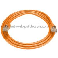Video System Orange Utp Cat 5E Patch Cord Rj45 Category 5E Ethernet Cable