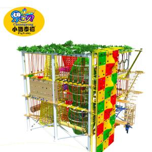 China Top Sale Quality assurance Indoor kids rope course equipmen outdoor on sale