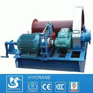 China Low Speed or High Speed Drum Wire Rope Crane Electric Winch on sale