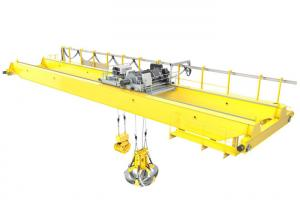 China Customization Overhead Beam Crane European Type For Lifting Steel Billet on sale