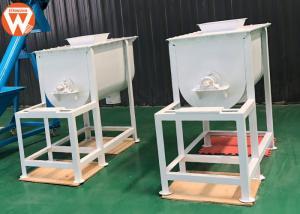 China Animal Pig Feed Mixer Machine Mixing Time 3-6 Min High Uniformity 250 Kg/Batch on sale