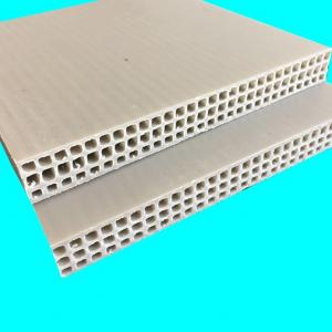 China Wear Resistance Reuse 2440mm Flexible Plastic Concrete Forms on sale