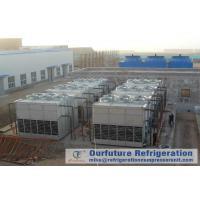 Cold Storage Refrigeration System Evaporative Condenser Chiller Draft Type
