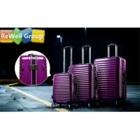 China White Collar Aluminum Frame  ABS Hard Luggage Case  Lightweight Luggage To Travel on sale