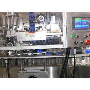 China Automatic Double Head 3kw Sticker Labeling Machine for 30mm 250mm Label Height on sale
