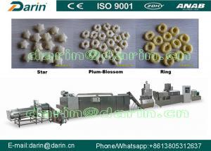 China Large Capacity Corn Puff Extruder Machine , double screw extruder machine on sale