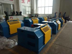 China Ø3mm - Ø-1.5mm Bright Steel Wire Drawing Machine , Acid - Free Green Wire Pulling Machine on sale