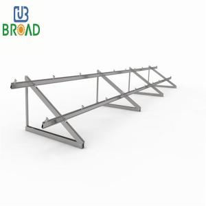 China Household Use Flat Housing Rooftop Solar Panel Mounting Bracket Tripod For Grid Power System flat roof tripod mounting on sale
