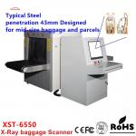 Durable 140-160kv XST -6550 X Ray Baggage Scanner With 22 Inches Hd Lcd