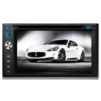 2 Din FM AM TV AV Windows Car DVD Player With PAL / NTSC / SECAM Systems