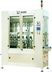 China Automatic Mineral Water Bottling Machinery, Micro-computer In-line auto Filling Machine supplier