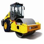 road building machine XCMG 14 ton XS143J 103kW single drum road roller yellow vibratory compactor from China