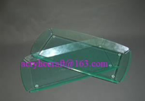China Fashionable acrylic towel holder, acrylic hotel supplies towel tray on sale
