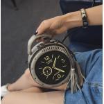 2016人のハンBan PU夏新しいさんの包みの円形の時計の方法女性はショルダー・バッグを選抜します