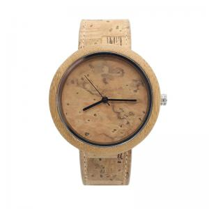 China Chronograph Modern Wood Watches / Water Resistant Bamboo Watch Womens on sale
