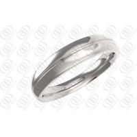 Polished Wedding Bands Rings Stainless Steel Jewelry Unisex , cz steel rings