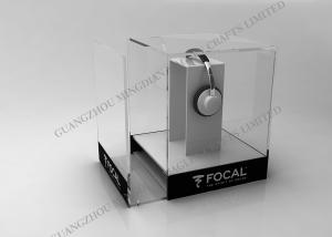 China Fiber Led Acrylic Display , Optic Pop Acrylic Gifts Led Lighted Display For Exhibition on sale