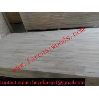 paulownia finger joint board for door frame / paulownia FJ board/ paulownia panel