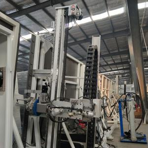 China Double And Triple Glass Glue Coating Machine 3.4m High Fully Automatic on sale