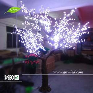 China Artificial Cherry Blossom LED holiday lights white wedding tree GNW tr208 on sale