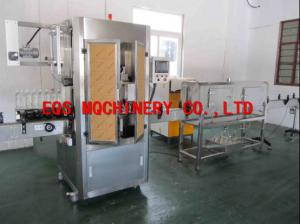 China 150 Bottles Per Min Shrink Sleeve Label Machine 3.0KW 30mm - 250mm on sale