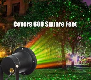China outdoor remote control laser christmas lights projector/ solar motion sensor light on sale