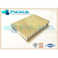 China Outdoor Decoration Stainless Steel Honeycomb Panels 40mm - 200m Thickness on sale