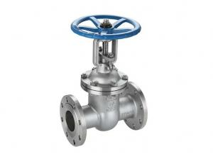 China In Line Z41W-25P GB  Metal Gate Valve ,  Ss / Carbon Steel  Flanged Gate Valve on sale