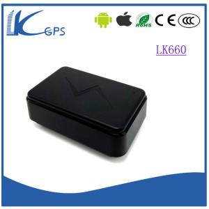 China small magnetic vehicle gps tracker with standby 3-5 years-----Black LK660 on sale