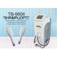 IPL SHR Elight With 10*50 And 15*50 Spot Size Two System  Hair Removal Machine