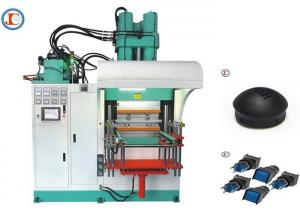 China Low Maintenance Vertical Rubber Injection Molding Machine 100T Screw Drive on sale