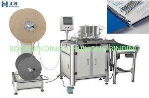 China Office & School Supplies binding closing machineCE Semi-auto Double Wire Book Binding Machines on sale