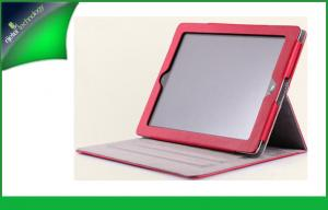 China Unbreakable Pink Ipad 4 Protective Case , Ipad Leather Smart Cover With Keyboard on sale