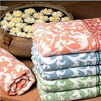 China 100% cotton terry face towels with high quality on sale