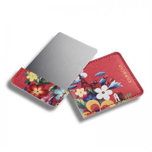 China Colorful Printed Double Sided Compact Mirror Shatterproof Creativity Design on sale