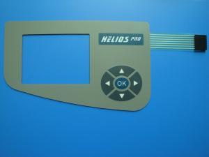 China Waterproof Push Button Flexible Membrane Switch , Thin Film Switch Panel on sale