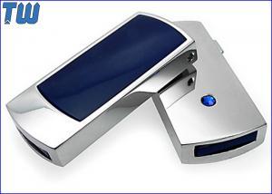 China Mini Side Sliding USB Pen Drive 4GB 8GB 16GB 32GB with Single Diamond on sale