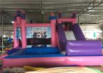 4 In 1 Inflatable Jumping Castle , Inflatable Jump House With Slide / Water Pool