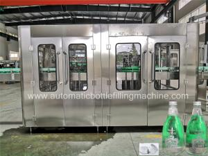China Auto Carbonated Soft Drink Filling Machine , Glass Bottle Machine High Speed on sale