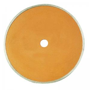 China Hot Pressed Sintered Continuous Rim Diamond Saw Blade For Ceramic Tiles Fast Cutting on sale