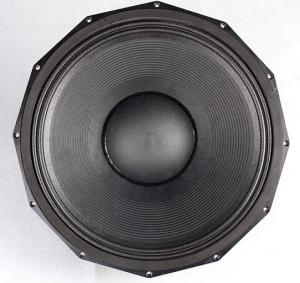 China Mid Bass Pro Audio Woofers , 18 Inch Subwoofer Speaker Round Type on sale