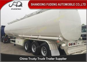 China 60000 Liters fuel tank truck trailer for edible cooking oil delivery sale supplier