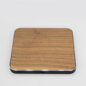 China Galaxy S8 / S7 Edge Wooden Wireless Charger , Mobile Phone Compatible 10W Qi Charger on sale