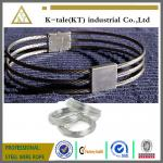 3-strand collar /stainless steel wire rope slave collar